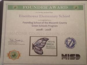Green Schools Founder Award