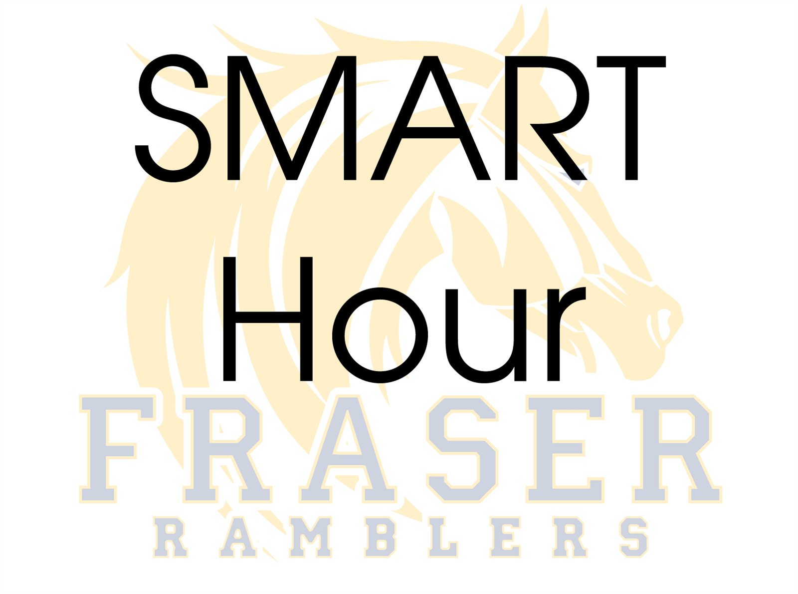 smart hour with the fraser logo