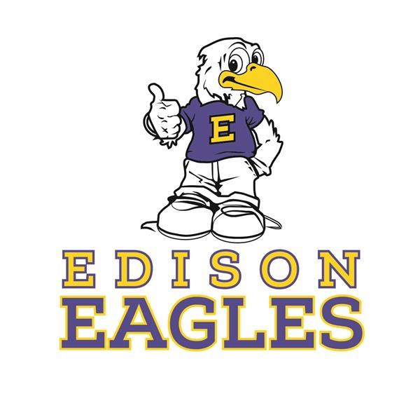 Edison Eagles Logo