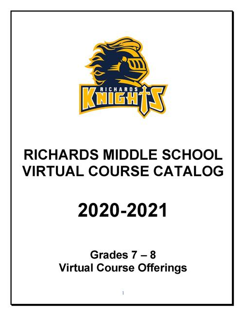 Richards Middle School Virtual Catalog
