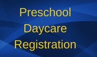 Preschool Daycare Registration