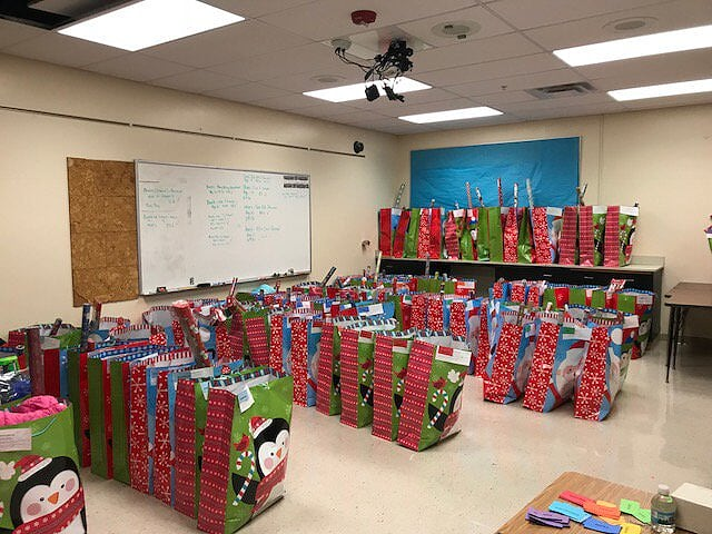 Pictures of gifts for Fraser Families in need