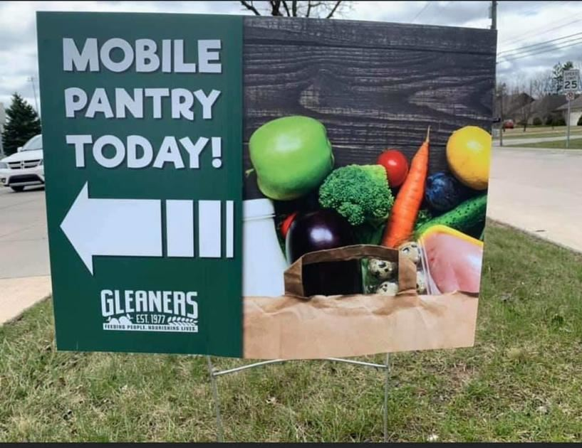 Mobile Food Pantry Today Gleaners